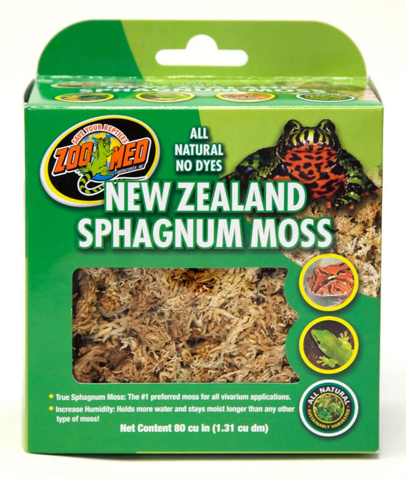 Zoo Med New Zealand Sphagnum Moss 80cu in