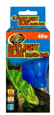 Zoo Med Daylight Blue Reptile Bulb, 40w