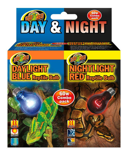 Zoo Med Day & Night Reptile Bulb Combo Pack