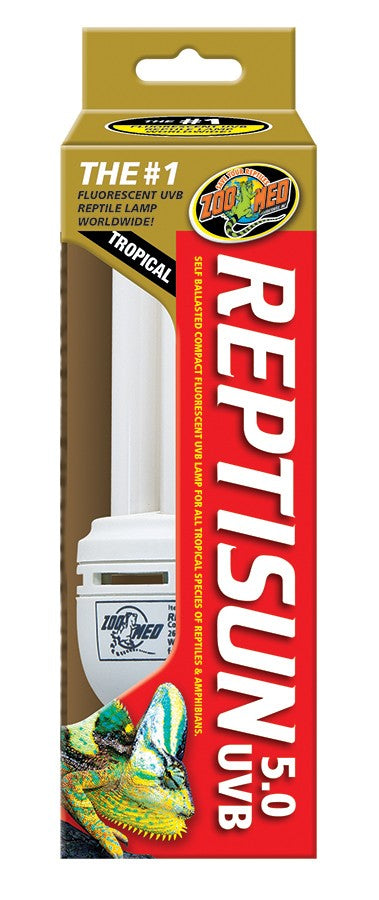 Zoo Med ReptiSun 5.0 Compact Fluorescent UVB