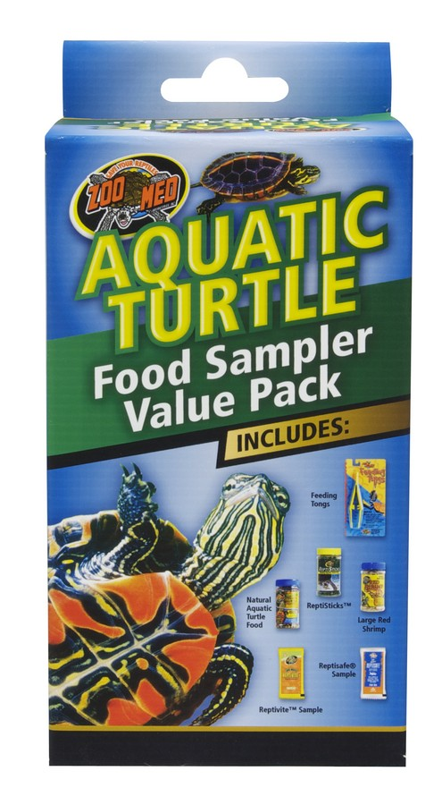 Zoo Med Aquatic Turtle Food Sampler Value Pack