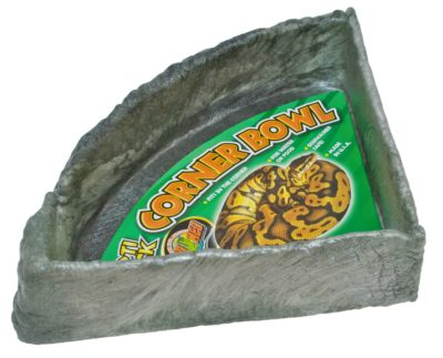 Zoo Med Repti Rock Corner Bowl, Extra Large