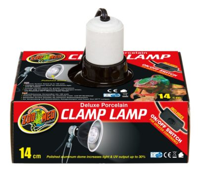 Zoo Med Deluxe Porcelain Clamp Lamp 5.5""