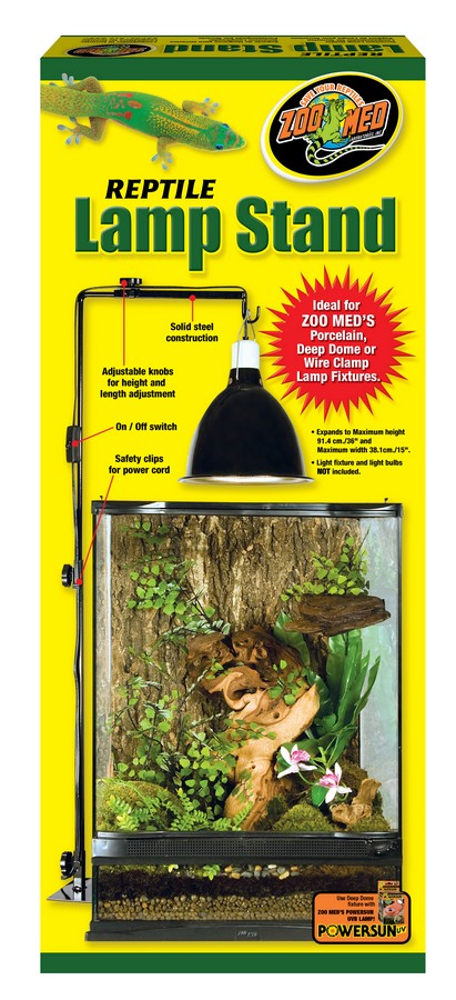 Zoo Med Reptile Lamp Stand, Small