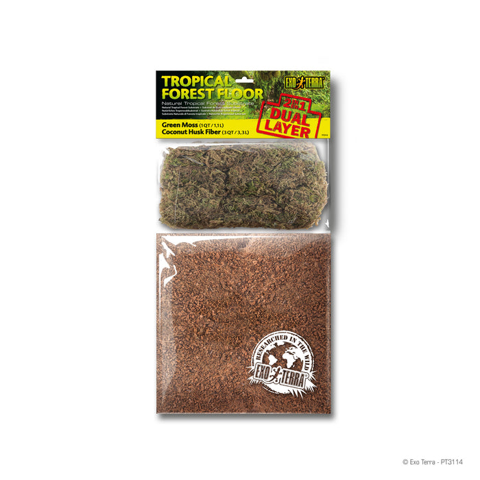 Exo Terra Tropical Forest Floor 4QT