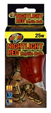 Zoo Med Nightlight Red Reptile Bulb, 25w