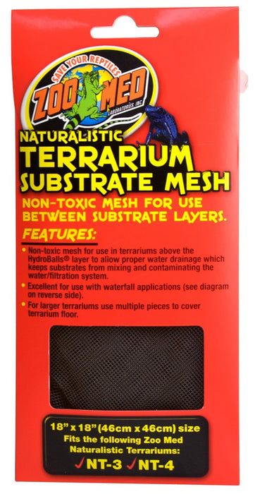 "Zoo Med Naturalistic Terrarium® Substrate Mesh 18""x18"""