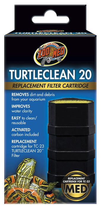Zoo Med TurtleClean 20 Replacement Cartridge