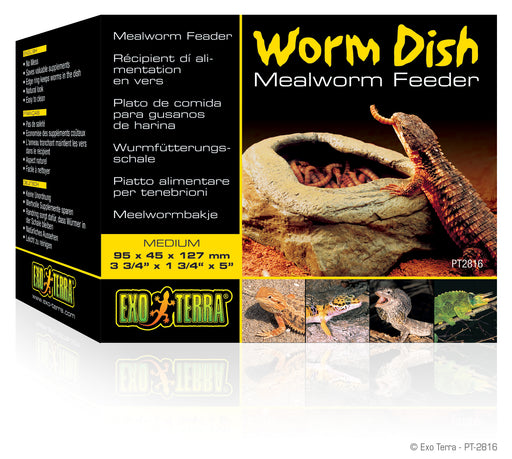 Exo Terra Worm Dish Medium