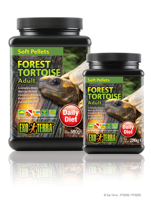 Exo Terra Soft Pellets Adult Forest Tortoise 20.8oz