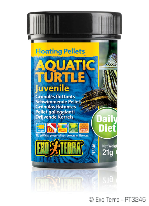 Exo Terra Floating Pellets Aquatic Turtle Juvenile 0.7oz