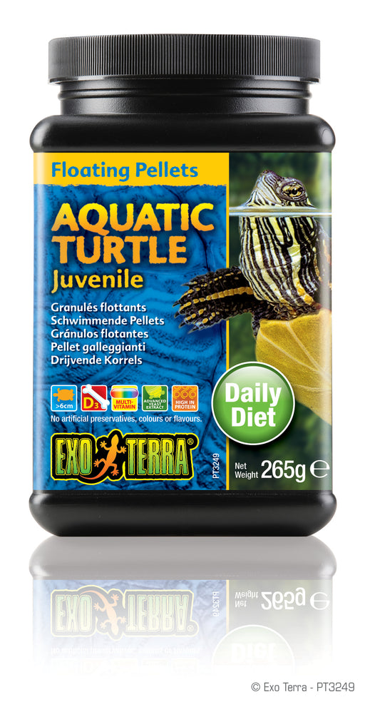 Exo Terra Floating Pellets Aquatic Turtle Juvenile 9.3oz