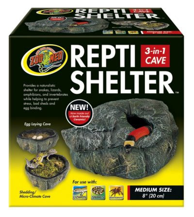 Zoo Med Repti Shelter™ 3-in-1 Cave Medium