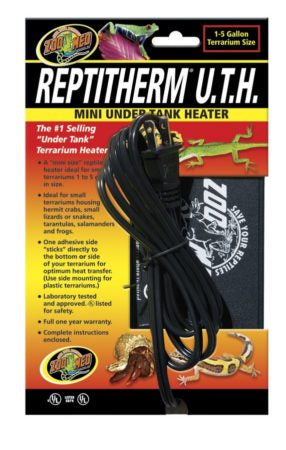 Zoo Med ReptiTherm® Under Tank Heater (U.T.H.) Mini