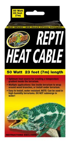 Zoo Med Repti Heat Cable, 50w