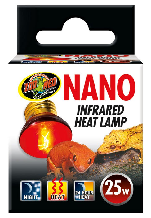 Zoo Med Nano Infrared Heat Lamp, 25w