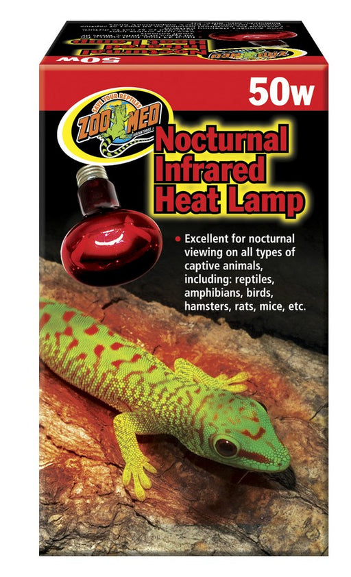 Zoo Med Nocturnal Infrared Heat Lamp, 50w