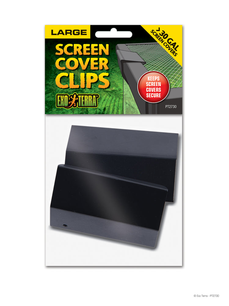 Exo Terra Screen Cover Clips, Large
