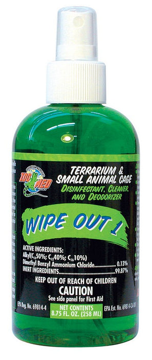 Zoo Med Wipe Out 1 8.75oz