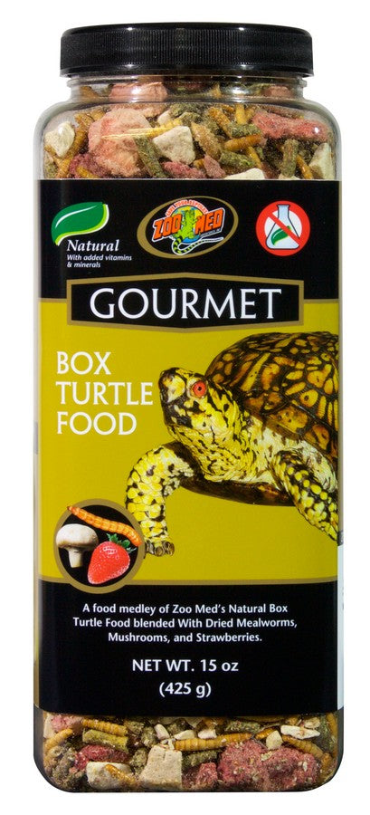 Zoo Med Gourmet Box Turtle Food, 15oz