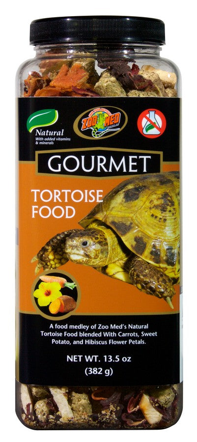 Zoo Med Gourmet Tortoise Food, 13.5oz