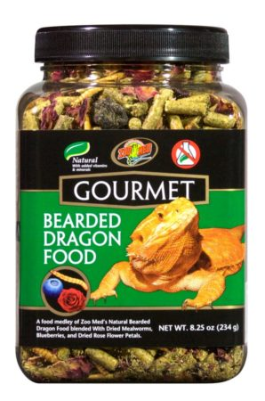 Zoo Med Gourmet Bearded Dragon Food, 8.25oz