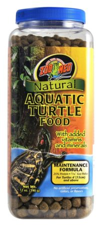 Zoo Med Natural Aquatic Turtle Food – Maintenance Formula, 12oz