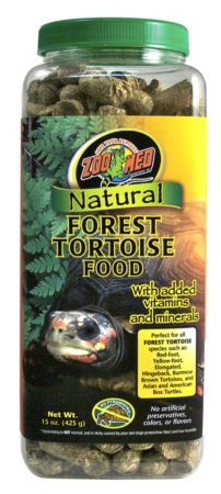 Zoo Med Natural Forest Tortoise Food, 15oz