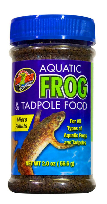 Zoo Med Aquatic Frog and Tadpole Food, 2oz