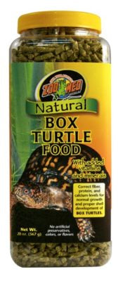 Zoo Med Natural Box Turtle Food, 20oz
