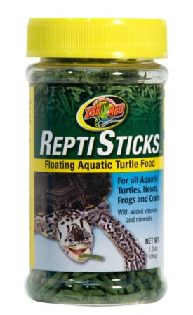 Zoo Med ReptiSticks Floating Aquatic Turtle Food, 1oz