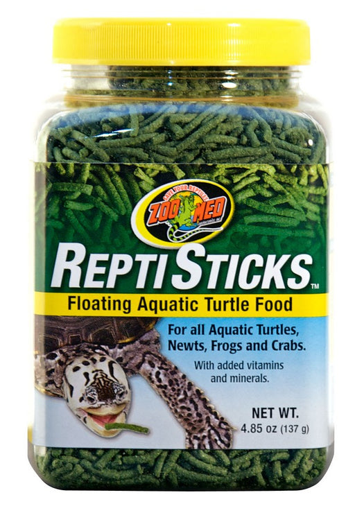 Zoo Med ReptiSticks Floating Aquatic Turtle Food, 4.85oz