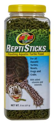 Zoo Med ReptiSticks Floating Aquatic Turtle Food, 8oz