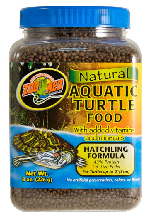 Zoo Med Natural Aquatic Turtle Food – Hatchling Formula, 8oz