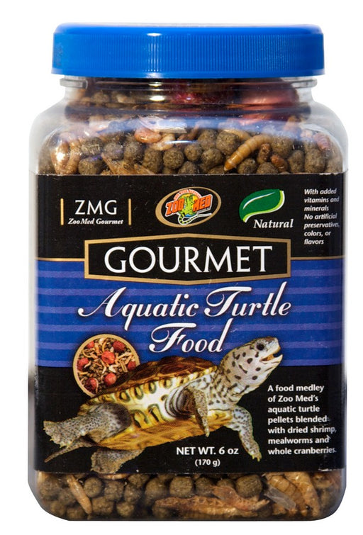 Zoo Med Gourmet Aquatic Turtle Food, 6oz