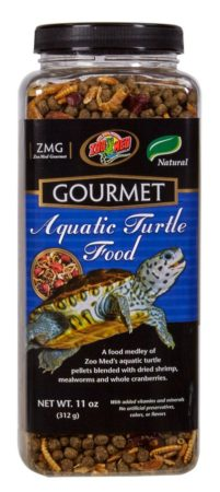 Zoo Med Gourmet Aquatic Turtle Food, 11oz