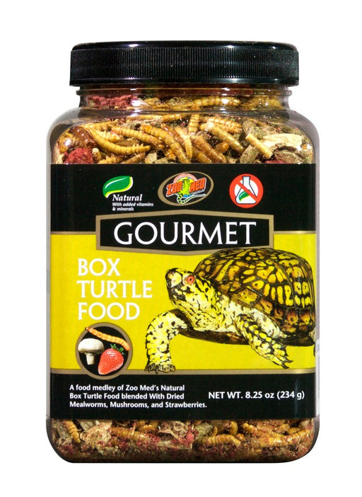 Zoo Med Gourmet Box Turtle Food, 8.25oz