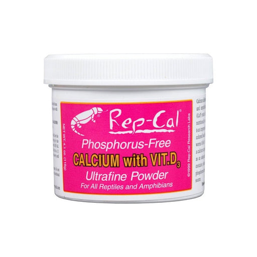 Rep-Cal Calcium with Vitamin D3 3.3oz