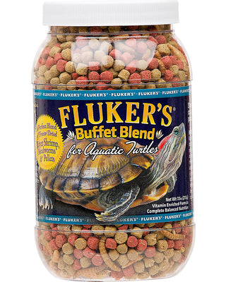 Fluker's Buffet Blend Aquatic Turtle Formula, 12oz