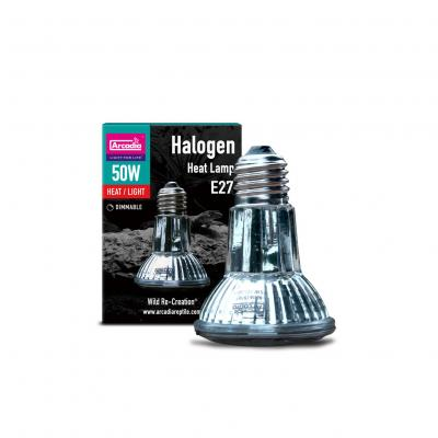 Arcadia Halogen Heat Lamp 50 Watt