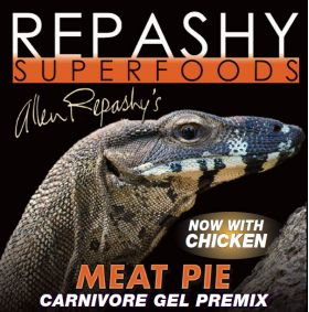 Repashy Meat Pie Reptile v2 (with Chicken), 3 oz