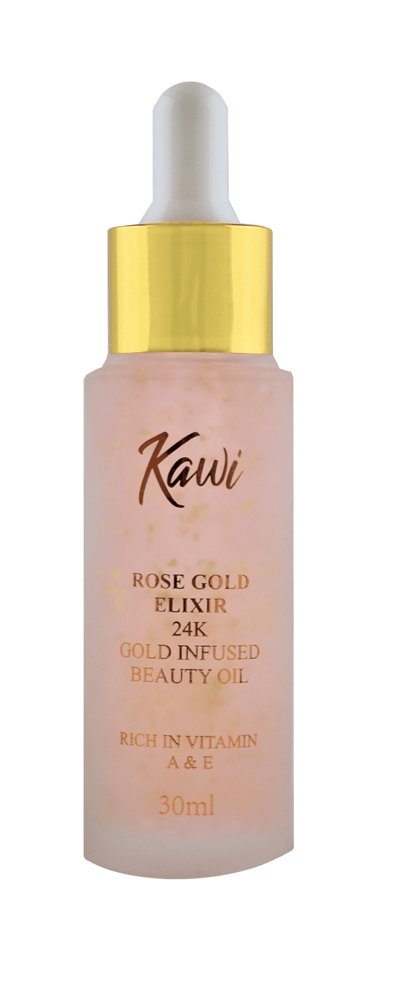 24K Gold Infused Beauty Oil.