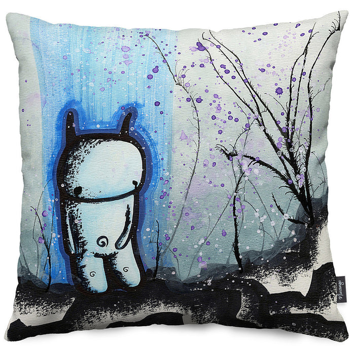 Melancholy Throw Pillow