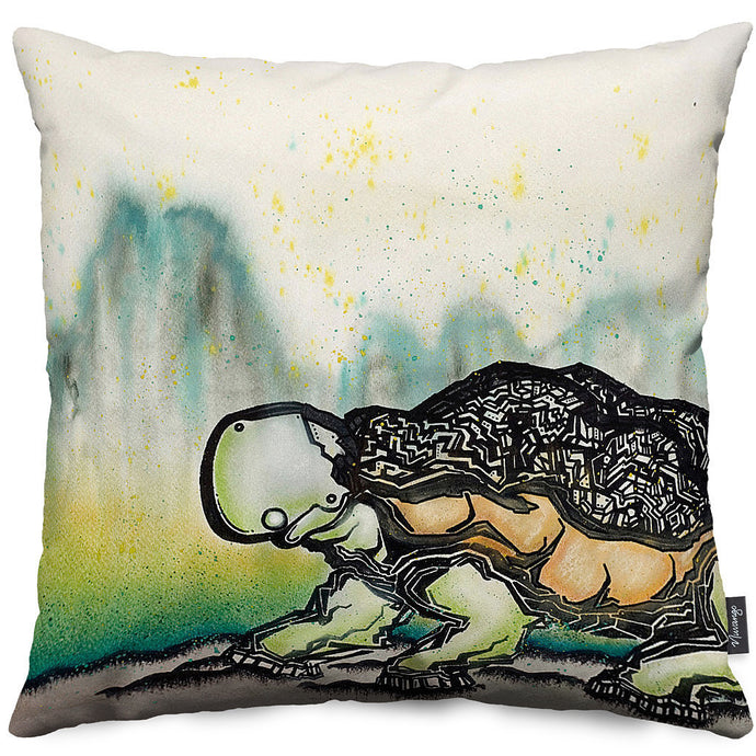 Crawl Throw Pillow