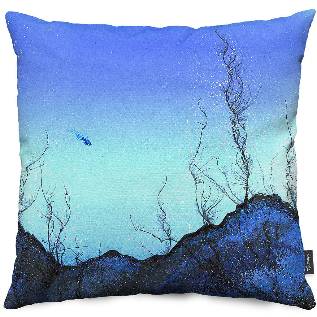 Meeting Place Throw Pillow