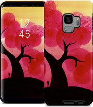 Red Blossoms Samsung Case