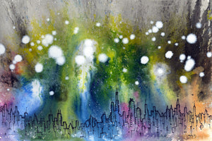 """City Lights"" - Giclée Fine Art Print"
