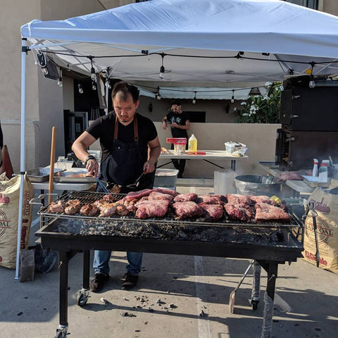 pablo kim argentine asado pop ups catering fresh chimichurri in los angeles