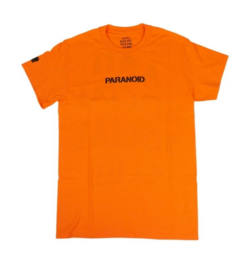 A.S.S.C X UNDEFEATED PARANOID Tee orange