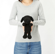 KAWS UNIQLO SNOOPY PLUSH SMALL BLK